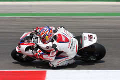 Jonathan Rea - Honda CBR1000RR - Honda World Super Royalty Free Stock Photography