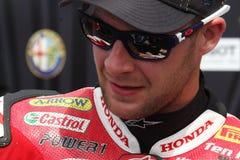 Jonathan Rea - Honda CBR1000RR - monde de Honda superbe Photos stock