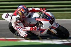 Jonathan Rea - Honda CBR1000RR - mondo della Honda eccellente Fotografia Stock
