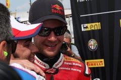 Jonathan Rea - Honda CBR1000RR - mondo della Honda eccellente Immagine Stock