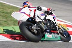 Jonathan Rea - Honda CBR1000RR - mundo de Honda super Foto de Stock