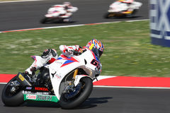 Jonathan Rea - Honda CBR1000RR - mundo de Honda super Fotos de Stock Royalty Free