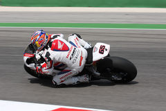 Jonathan Rea - Honda CBR1000RR - mundo de Honda super Fotografia de Stock Royalty Free