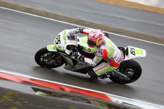 Jonathan Rea Sbk Nurburgring 2009 Royalty Free Stock Photos