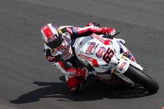 Jonathan Rea #65 su Honda CBR1000RR con il Superbike WSBK di Pata Honda World Superbike Team fotografie stock