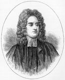 Jonathan Swift. (1667 - 1745) Anglo-Irish satirist, essayist, political pamphleteer (first for the Whigs, then for the Tories), poet and cleric who became Dean Stock Illustration