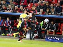 Jonathan Tah Bayer Leverkusen Zdjęcia Stock