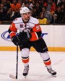 Jonathan Tavares #91, New York Islanders. New York Islanders center Jonathan Tavares #91 stock images