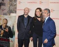 Jonathan Teplitzky, Clo Cohen και Charles Cohen στοκ φωτογραφίες με δικαίωμα ελεύθερης χρήσης