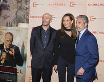 Jonathan Teplitzky, Clo Cohen and Charles Cohen Royalty Free Stock Photos