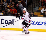 Jonathan Toews Chicago Blackhawks. Chicago Blackhawks forward and captain Jonathan Toews #19 stock photos