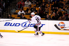 Jonathan Toews Chicago Blackhawks. Chicago Blackhawks captain Jonathan Toews #19 royalty free stock photos