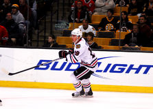 Jonathan Toews Chicago Blackhawks. Chicago Blackhawks forward Jonathan Toews #19 royalty free stock photography