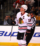 Jonathan Toews Chicago Blackhawks. Chicago Blackhawks captain Jonathan Toews #19 royalty free stock photography