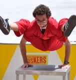 Jonathon Burns, het Festival van Buskers van de Wereld Stock Fotografie