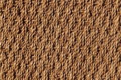 Jonc de mer. Photo taken at home. Vegetal carpet exposed on sunny light Stock Photo