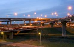 Jonction d'autoroute image stock