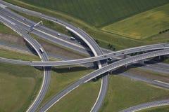 Jonction d'autoroute Image libre de droits