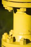 Jonction de pipe en métal Photographie stock libre de droits
