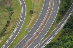 Jonction de route Image stock