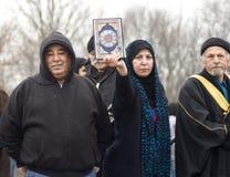 jones ύφασμα διαμαρτυρίας Στοκ Εικόνες