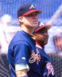 Jones chipper, Atlanta Braves 3B Photos stock