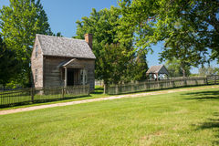 Jones Law Office at Appomattox National Park. Jones Law Office cabin at Appomattox County Courthouse National Park Virginia stock images