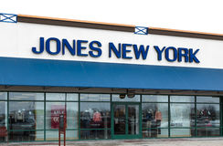 Jones New York Store Exterior Lizenzfreies Stockbild