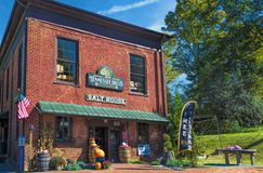 Jonesborough Tennessee Salt House Exterior fotografie stock libere da diritti