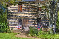 Christopher Taylor Historic Log Cabin royalty free stock photography