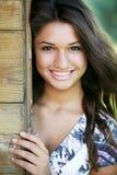 Jong aantrekkelijk gelukkig meisje. royalty-vrije stock foto's