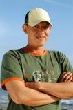 Jong aantrekkelijk mannetje Stock Fotografie