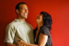Jong Aantrekkelijk Paar Stock Foto
