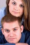 Jong Aantrekkelijk Paar royalty-vrije stock afbeelding