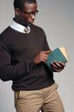 Jong Afrikaans Amerikaans Mannetje Stock Fotografie