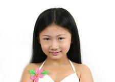 Jong Aziatisch kind 7 Stock Afbeelding