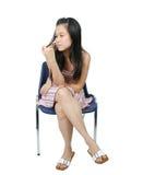 Jong Aziatisch meisje 26 Stock Foto's