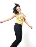 Jong Aziatisch meisje 50 Stock Fotografie