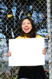 Jong Aziatisch Meisje Stock Fotografie