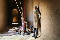 Jong berbermeisje Stock Afbeeldingen