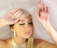 Jong blond meisje Royalty-vrije Stock Afbeeldingen