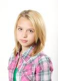 Jong blond meisje Royalty-vrije Stock Foto's