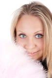 Jong blond meisje Stock Foto