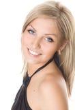 Jong blonde meisje Stock Afbeelding