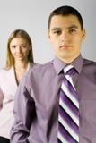 Jong commercieel personeel Stock Foto's