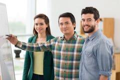Jong commercieel team Royalty-vrije Stock Foto