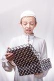 Jong geitje in Arabische kleren Royalty-vrije Stock Afbeeldingen