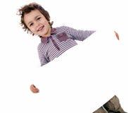 Jong geitje met wit blad Royalty-vrije Stock Afbeeldingen