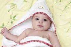 Jong geitje na bad Stock Afbeeldingen