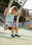 Jong geitje op speelplaatsgebied Royalty-vrije Stock Foto's